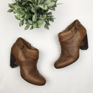 Anthro Schuler and Sons Anshan leather booties